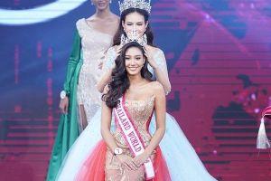 Người đẹp 19 tuổi đăng quang Hoa hậu Thế giới Thái Lan 2018