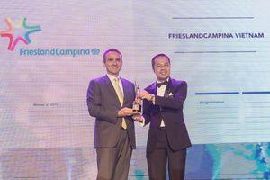 FrieslandCampina Việt Nam vào top 20 'Nơi làm việc tốt nhất châu Á 2018'