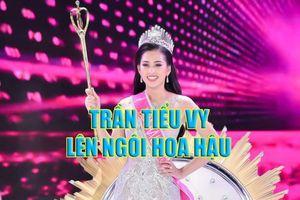 Trần Tiểu Vy giành vương miện Hoa hậu VN, trường có hơn 1.000 học sinh lớp 1 được tìm đọc nhiều nhất ngày