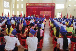 Nghệ An: Lễ khai giảng muộn ở trường vùng lũ