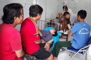 Bệnh xá đảo Song Tử Tây cấp cứu kịp thời ngư dân bị tai nạn