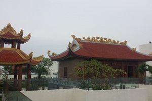 Những doanh nghiệp bạo tay xây đền chùa trên nóc nhà