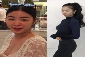 Thiếu nữ Hàn Quốc 'đốt mắt' netizen bằng thân hình 'ăn tập'