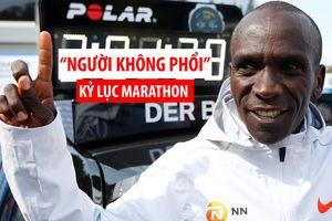 'Người không phổi' Kenya phá kỷ lục marathon thế giới