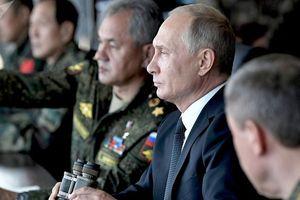 Tập trận khủng, 'đòn đánh' nhiều đích của Tổng thống Putin