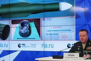 Bộ Quốc phòng Nga: Có thể xác định được số hiệu tên lửa bắn rơi MH17