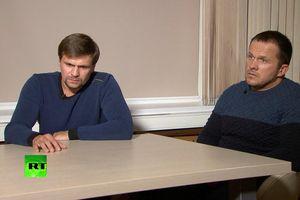 Nga hé lộ tình tiết mới về 2 nghi phạm vụ hạ độc cựu điệp viên Skripal
