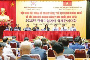 Doanh nghiệp Hàn Quốc muốn hiểu sâu hơn chính sách thuế, hải quan