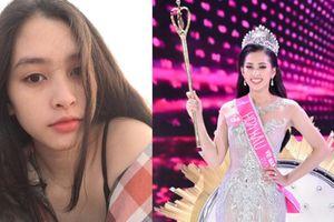 Trần Tiểu Vy - Hoa hậu Việt Nam nhỏ tuổi nhì, mặt mộc xinh hơn lúc trang điểm