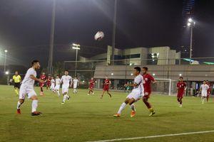 Giải bóng đá quốc tế Cúp Tứ Hùng 2018: U19 Việt Nam thua đậm trận ra quân