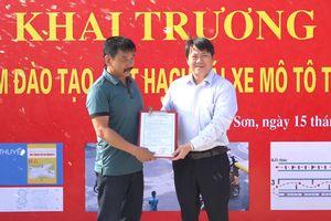 Lạng Sơn:Khai trương Trung tâm đào tạo, sát hạch lái xe mô tô Trường An