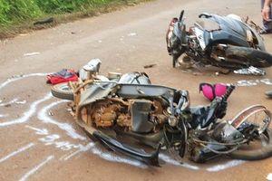 Đắk Lắk: Xe máy đấu đầu, 1 người tử vong tại chỗ