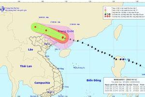 Bão Mangkhut suy yếu, toàn miền Bắc có mưa to trong ngày