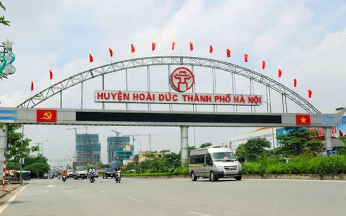 Thanh tra đột xuất việc quản lý, sử dụng đất ở huyện Hoài Đức (Hà Nội)
