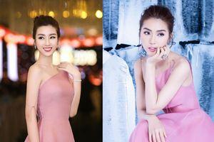 Chiếc váy gây nên 'vụ đụng hàng lịch sử', 4-5 sao Việt cùng mặc chỉ trong 1 tuần