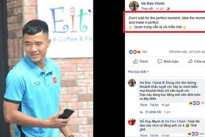 Đăng status 'bắn tiếng Anh như gió', Duy Mạnh và Đức Huy nghi ngờ Facebook của Đức Chinh bị hack