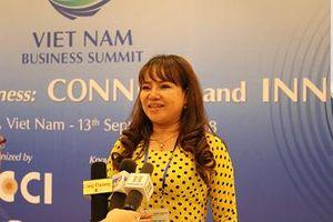 Người sáng lập thương hiệu Ngọc trai dự Hội nghị Thượng đỉnh Kinh doanh Việt Nam 2018