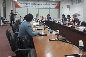 Công đoàn Công Thương Việt Nam thăm và làm việc với Công đoàn Kim khí Hàn Quốc