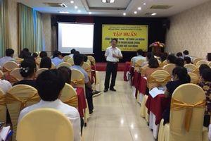 Tập huấn công tác an toàn vệ sinh lao động