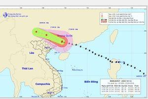 Bão Mangkhut suy yếu thành áp thấp, miền Bắc mưa to, vùng núi đề phòng lũ quét, sạt lở đất
