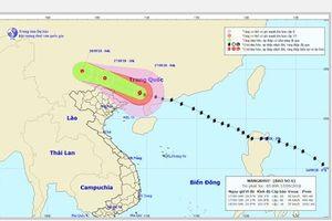 Thời tiết ngày 17/9: Bão Mangkhut suy yếu thành áp thấp, miền Bắc mưa to