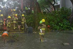 Siêu bão Mangkhut càn quét Macau, Hong Kong