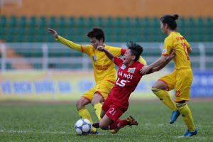 Giải bóng đá nữ VĐQG 2018: Hà Nội đứt mạch bất bại