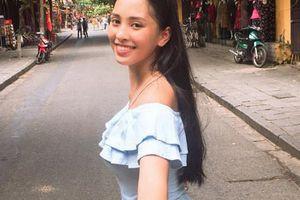 Vẻ đẹp mộc của Trần Tiểu Vy trước khi đăng quang Hoa hậu Việt Nam 2018