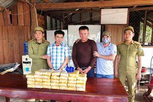 Bắt giữ 2 đối tượng người Lào vận chuyển 200.000 viên ma túy tổng hợp vào Việt Nam
