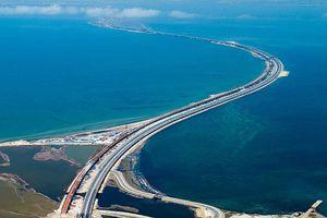 Nga hoàn thành cầu vượt biển dài nhất Châu Âu