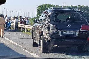 Khẩn trương làm rõ nguyên nhân vụ TNGT khiến hai người bị thương vong trên cao tốc