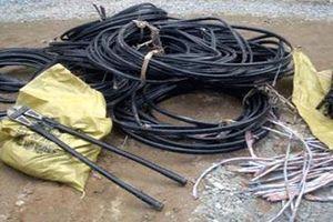 Bắt đối tượng chuyên 'ăn' dây cáp điện tại các công trường