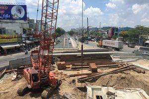 Nút giao thông 3 tầng ngã tư An Sương chậm tiến độ