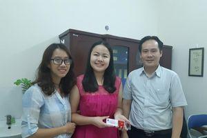 MC khiếm thị đầu tiên của VTV đăng ký hiến tạng