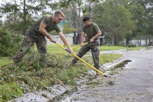 10.000 lính Mỹ hỗ trợ khắc phục hậu quả siêu bão Florence
