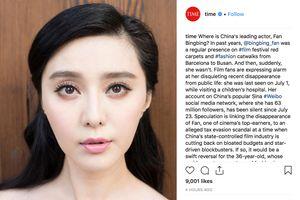 Tạp chí Time đặt vấn đề về việc Phạm Băng Băng mất tích