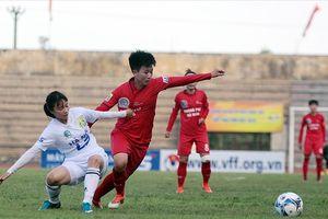 Vòng 9 giải bóng đá nữ VĐQG: Thua Phong Phú Hà Nam, Hà Nội đứt mạch bất bại