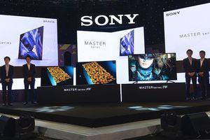 Sony ra mắt bộ đôi TV MASTER Series A9F và Z9F