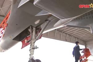 Su-30MK2 Việt Nam lần đầu mang tên lửa R-77 trực chiến