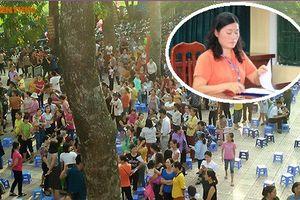 Xử lý nghiêm Hiệu trưởng trường Tiểu học Sơn Đồng vì thiếu trung thực