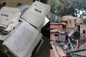 Vụ cháy ở gần Bệnh viện Nhi Trung ương: Hỗ trợ bệnh nhân nghèo bị cháy giấy tờ