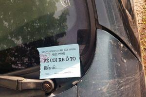 Gửi xe lễ hội chọi trâu Đồ Sơn đắt 'cắt cổ' : Ô tô 16 chỗ giá 250 nghìn đồng/xe