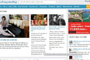 Baicadicungnamthang.net - một website hay, bổ ích với người yêu nhạc!