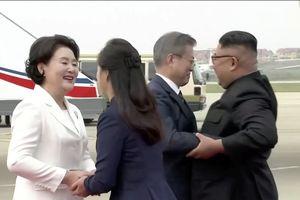 Long trọng lễ đón Tổng thống Moon Jae-in tại Bình Nhưỡng