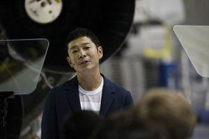 Tỉ phú Nhật Bản là hành khách đầu tiên bay lên không gian cùng SpaceX