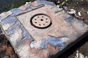Đào được vật lạ, nghi biểu tượng Yoni thuộc văn hóa Chăm pa cổ xưa