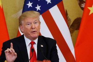 Chưa kịp đàm phán, TT Trump tuyên bố áp thuế lên 200 tỉ USD hàng Trung Quốc