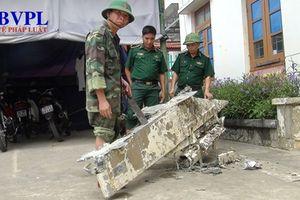 Quảng Bình: Phát hiện vật thể nghi là của máy bay bị rơi xuống biển