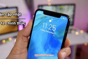 Apple phát hành bản cập nhật iOS 12 chính thức