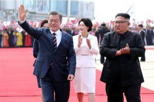 Tổng thống Moon Jae-in trở thành lãnh đạo nước ngoài đầu tiên bước vào Trụ sở Trung ương Đảng Lao động Triều Tiên
